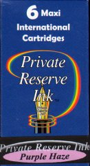 Private Reserve Maxi Ink Cartridges - Purple Haze