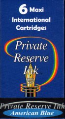 Private Reserve Maxi Ink Cartridges - American Blue