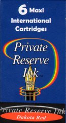 Private Reserve Maxi Ink Cartridges - Dakota Red