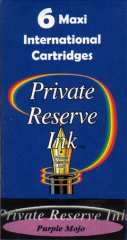 Private Reserve Maxi Ink Cartridges - Purple Mojo