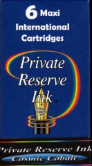 Private Reserve Maxi Ink Cartridges - Cosmic Cobalt