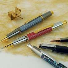 Aero Click Ballpoint Pen Kit - Chrome & 10K Gold