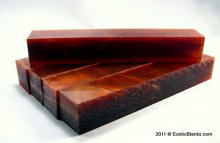Copper Fire Lucite - Please Choose Length