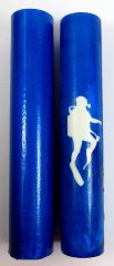 Athletes in Action Rotacrylic pen blank - The Scuba Diver