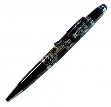 Diplomat Stylus Ballpoint Pen Kit - Gun Metal & Chrome