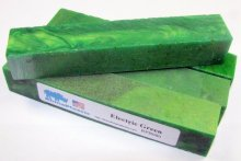 Electric Green Rhino Plastic Pen Blanks