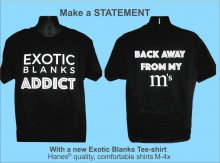 ExoticBlanks Addict T-Shirt