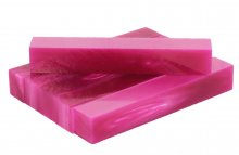 Flamingo Pink Acrylic Pen Blanks. Group