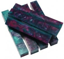 Grape Vines Rhino Plastic Pen Blanks