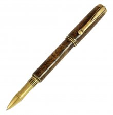 Jr. George Rollerball Pen Kit - Antique Brass