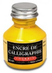 Calligraphy Ink - Yellow