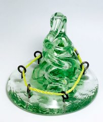 Art Glass Pen Holder Paperweight #101