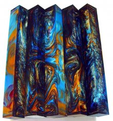 Long Vaper Swirl Pen Blanks #09 - Dreamtime (Long)