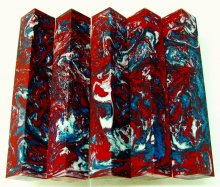 Lava Explosion Pen Blanks #49 - Faded Glory