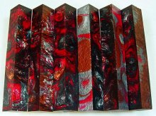 Lava Explosion Pen Blanks #13 - Night Flows