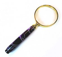 Magnifying Glass American Style - Gold