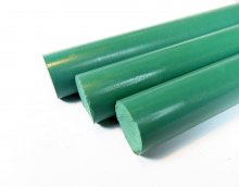 Ebonite Pen Blank - Cambridge Green Rod