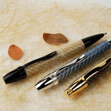 Patriot (Artisan) Ballpoint Pen Kit - Black Chrome