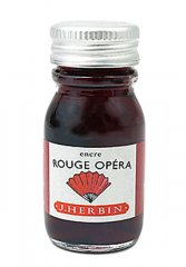 Rouge Opera J. Herbin Bottled Ink - Mini (10ml)