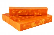 Audacious Orange Alumilite Resin Blank