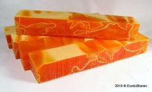 Tangerine Dreams Lucite - Please Choose Length