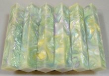 Pearl Swirls Pen Blank #11 - Four Color Opal