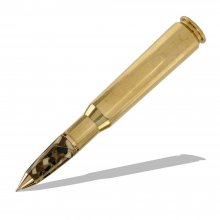 50 Cal Machine Gun Bullet Cartridge Twist Pen (Cross Refill)