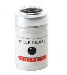 Perle Noire J. Herbin Cartridges - Tin of 6
