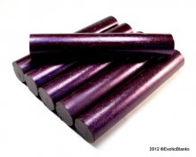 Stardust Pen Blanks - Poetic Purple