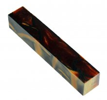 Kirinite Pen Blank - Root Beer