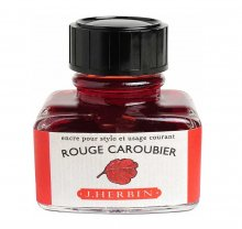 Rouge Caroubie J. Herbin Bottled Ink (30ml)