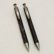 Long Clicker Pen Kit - Black Titanium