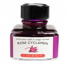 Rose Cyclamen J. Herbin Bottled Ink (30ml)