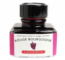 Rouge Bourgogne J. Herbin Bottled Ink (30ml)
