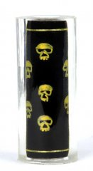 Thread Art Pen Blanks - Hand Painted Gold Skulls - Sierra