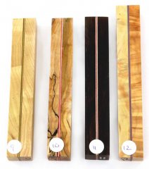 Joe's Segmented Wood Pen Blanks - Sandwich Pattern 09-12