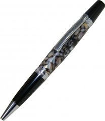 Le Roi Elegant V2 Pen Kit - Chrome & Black Chrome