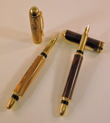 Sedona Fountain Pen Kit - Satin Copper