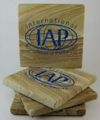 IAP Sandstone Coasters - Set of 4