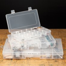 Clear Storage Organizer Box - Please Choose Size