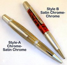 Sierra Click Pencil Kit - Two-Tone Chrome Style B