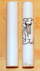Wally the Walrus Rotacrylic pen blank