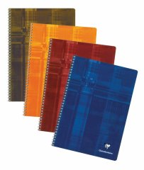 Clairefontaine Classic Notebooks - Side Wirebound 8.25 x 11.75 Lined Paper (Assorted Colors)
