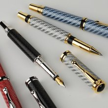 Jr. Retro Rollerball Pen Kit - 10K Gold