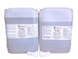 Alumilite Clear SLOW Casting Resin - 80 lb Kit