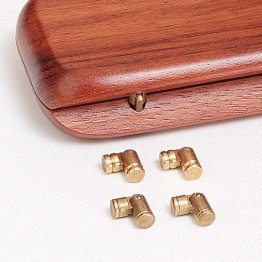 Mini Barrel Hinges - Pack of 10
