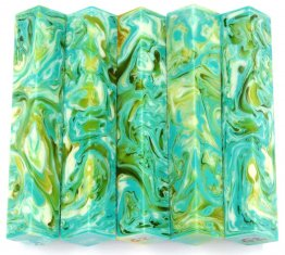 Lava Pen Blanks - Green Ghost