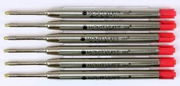Monteverde Soft Roll Parker Style Refills - Rainbow  (Choose From 7 Colors!)