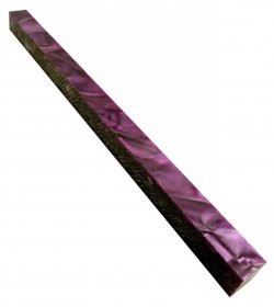 Long Pen Blank - Lava Bright Amethyst Purple Silk 12 in.