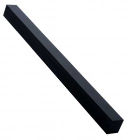 Long Pen Blank - AquaPearl Jet Black Pearl 12 in.
